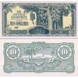 Collezione banconote Malesia - Malay Uniti Pick numero 7 - 10 Ringgit