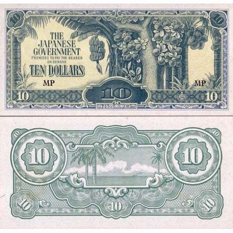 Billets de banque Malaisie Pk N° 7M - 10 Dollars