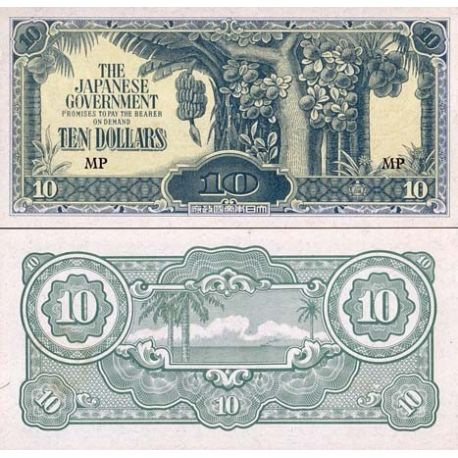 Malaisie - Pk N° 7 - Billet de 10 Dollars