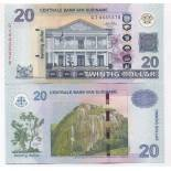 Collection of Banknote Suriname Pick number 164 - 20 Dollar