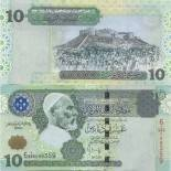 Billet de collection Libye Pk N° 70 - 10 Dinar