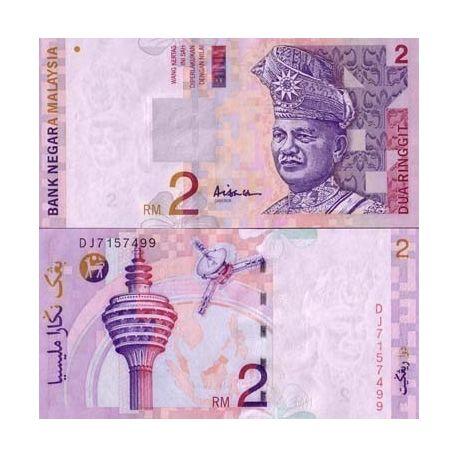 MALAISIE - Pk N° 40 - Billet de 2 Ringgit
