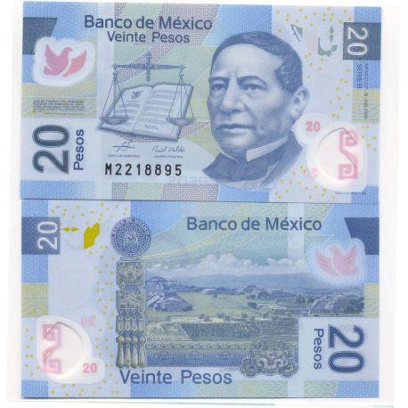 Billet de collection Mexique Pk N° 122 - 20 Pesos
