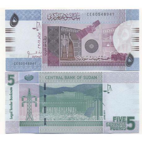 Soudan - Pk N° 999 - Billets de 5 Pounds