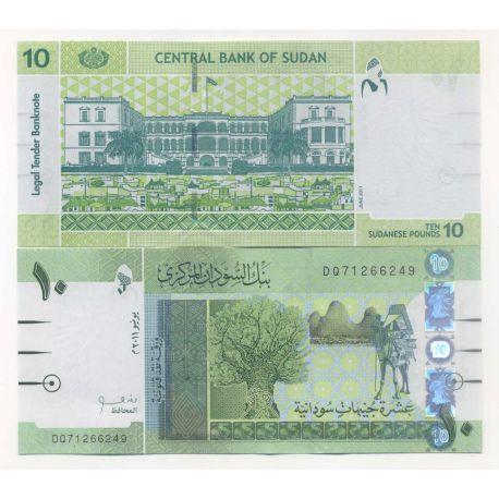 Soudan - Pk N° 9999 - Billets de 10 Pounds