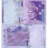 Schone Banknote Malaysia - Malaiische Staaten Pick Nummer 39 - 1 Ringgit