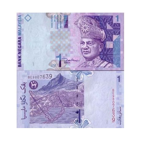 Billets banque Malaisie Pk N° 39 - 1 Ringgit