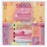Banknote Samoa Pick number 38 - 5 Tala