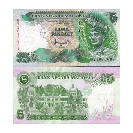 Malaisie - Pk N° 35 - Billet de 5 Ringgit