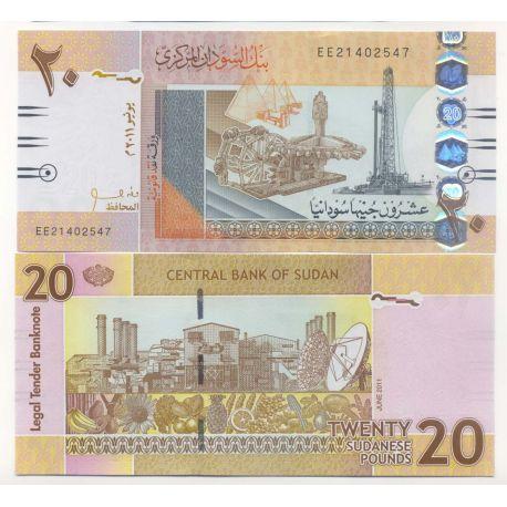 Soudan - Pk N° 99999 - Billets de 20 Pounds