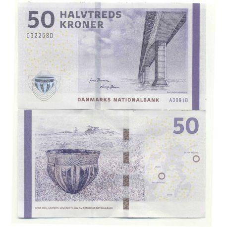 Billet de banque Danemark Pk N° 65 Billets de 50 Kronur