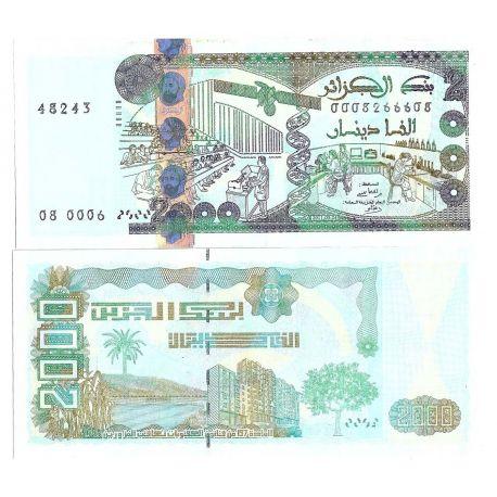 Billets de collection Billet de banque Algerie Pk N° 144 - 2000 Dinars Billets d'Algerie 58,00 €