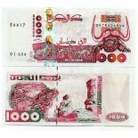 Banknote collection Algeria Pick number 142 - 1000 Dinar 1998
