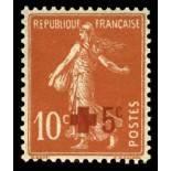 French stamps N° 146 Mint NH