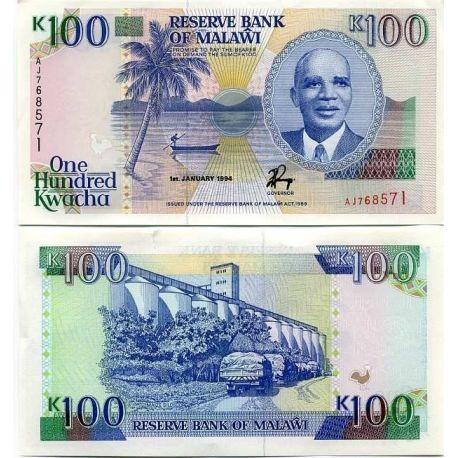Malawi - Pk: # 29 - 100 note Kwacha