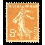 French stamps N° 158 Mint NH
