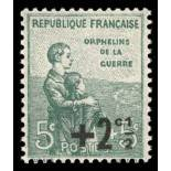 French stamps N° 163 Mint NH