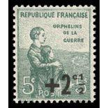 Timbre France N° 163 neuf sans charnière