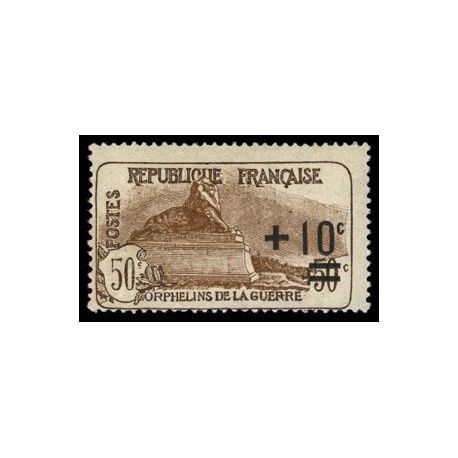Timbre France N° 167 neuf sans charnière