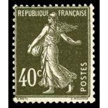 Francobolli francesi N ° 193 Nuevo non linguellato