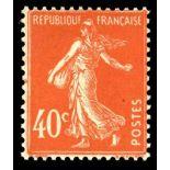 Francobolli francesi N ° 194 Nuevo non linguellato
