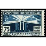 French stamps N° 215 Mint NH