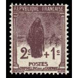 Francobolli francesi N ° 229 Nuevo non linguellato