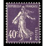 Francobolli francesi N ° 236 Nuevo non linguellato