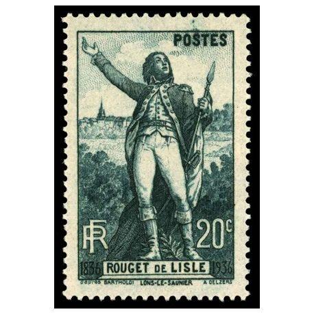 Timbre France N° 314 neuf sans charnière