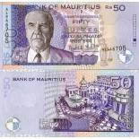Billet de collection Maurice Pk N° 50 - 50 Ruppees