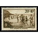 Französisch Briefmarken N ° 345 Postfrisch