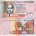 Billet de banque Maurice Pk N° 51 - 100 Ruppees
