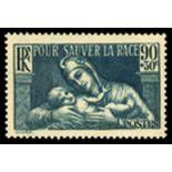 Francobolli francesi N ° 419 Nuevo non linguellato