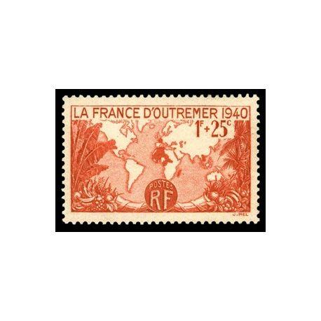 Timbre France N° 453 neuf sans charnière