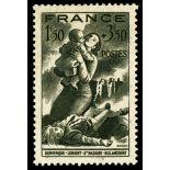 Sellos franceses N ° 584 nuevos sin charnela