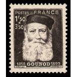 Francobolli francesi N ° 601 Nuevo non linguellato