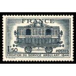 Francobolli francesi N ° 609 Nuevo non linguellato