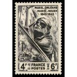 Francobolli francesi N ° 618 Nuevo non linguellato