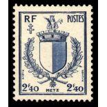 Francobolli francesi N ° 734 Nuevo non linguellato