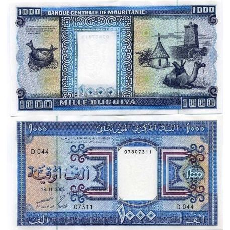 Billets de collection Billets collection Mauritanie Pk N° 7 - 1000 Quguiya Billets de Mauritanie 41,00 €