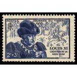 French stamps N° 743 Mint NH