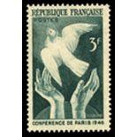 Francobolli francesi N ° 761 Nuevo non linguellato