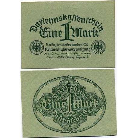 Billets de banque Allemagne Pk N° 61 - 1 Mark