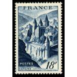 Sellos franceses N ° 805 nuevos sin charnela
