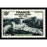 Sellos franceses N ° 819 nuevos sin charnela