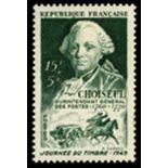Francobolli francesi N ° 828 Nuevo non linguellato