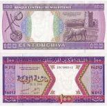 Billets collection Mauritanie Pk N° 4 - 100 Quguiya