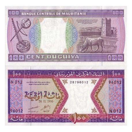 Mauritanie - Pk N° 4 - Billet de 100 Quguiya