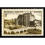 Sellos franceses N ° 873 nuevos sin charnela