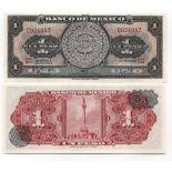 Billet de collection Mexique Pk N° 59 - 1 Peso